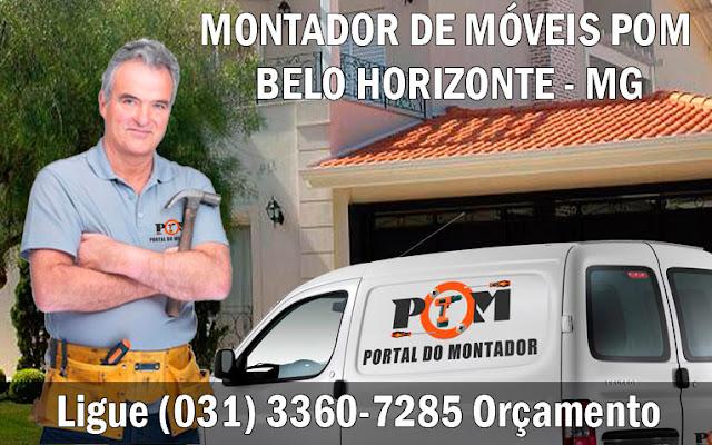 Montagem de Móveis Belo Horizonte MG (031) 3360-7285