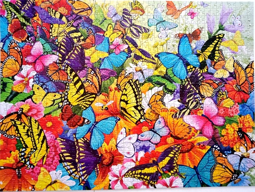 Butterfly 1000 piece jigsaw