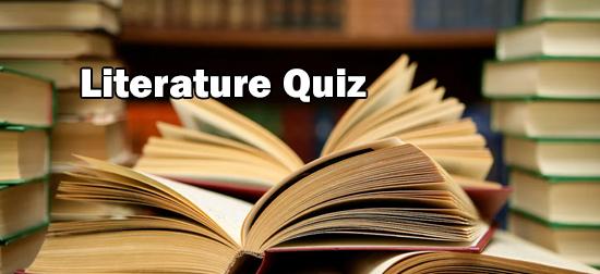 Literary Quiz/Books Quiz