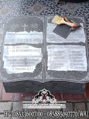 Model Kuburan Kristen Terbaru, Contoh Kuburan Kristen, Makam Granit Kristen