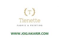 Loker Jogja Digital Marketer dan Content Creator di Tienette Dressing Room