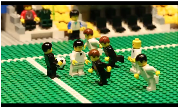 Animated Lego reconstructions of World Cup games