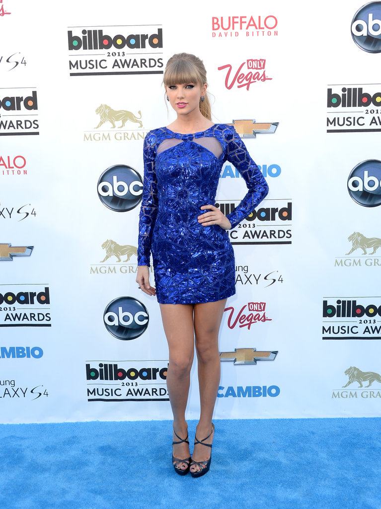 Billboard Music Awards 2016 The Best Hair And Makeup: Celeb Diary: Taylor Swift @ 2013 Billboard Music Awards