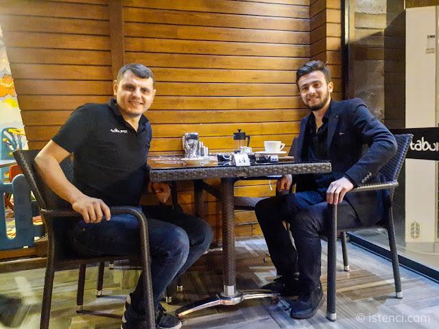 Harun İstenci Amasya'da Abdüssamet Buğuş'u ziyaret etti...