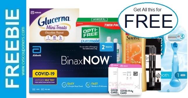 FREE BinaxNOW COVID-19 Self Test CVS Deal