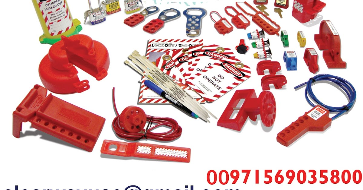 CLEARWAY: LOTO SAFETY GERMAN LOCKOUT TAGOUT KIT DEALER IN MUSSAFAH