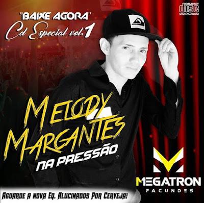 Cd Melody Marcante 2017 - Na Pressão vol.01 - Dj Megatron Facundes