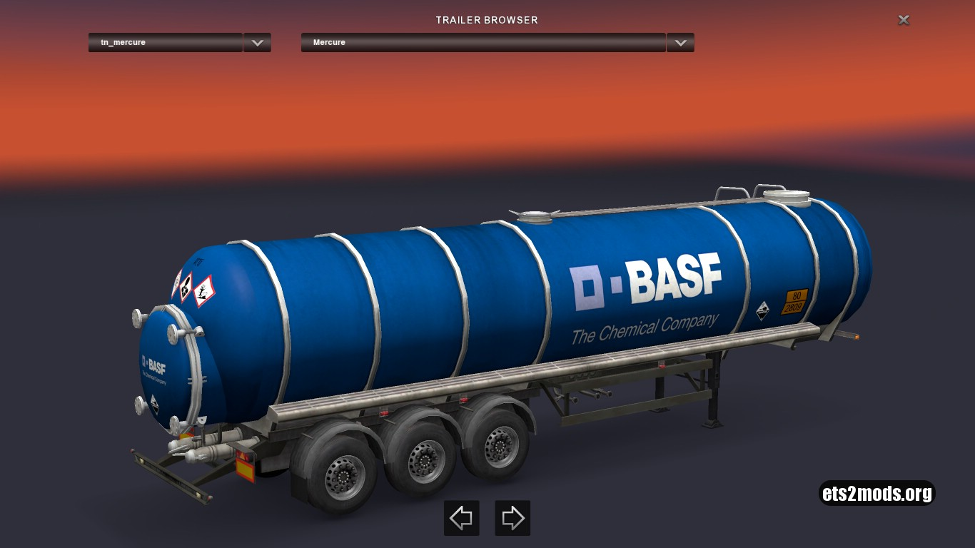 Standalone BASF Mercure Citern