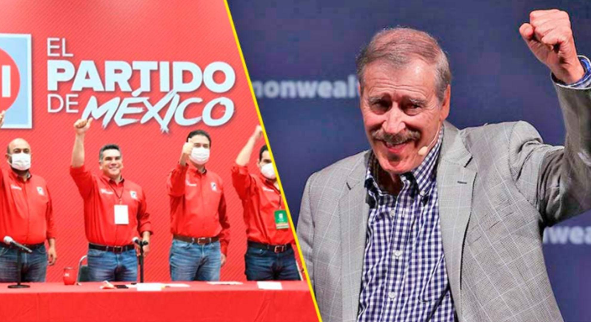 Vicente Fox celebra triunfo del PRI en elecciones de Hidalgo y Coahuila, y se burla de Morena