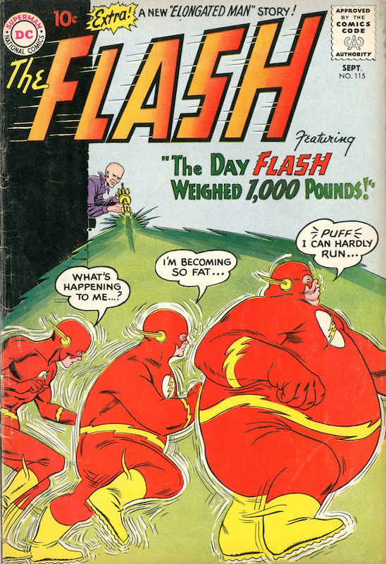 The Flash #115 (1960):  Carmine Infantino penciler  Joe Giella inker  Murphy Anderson