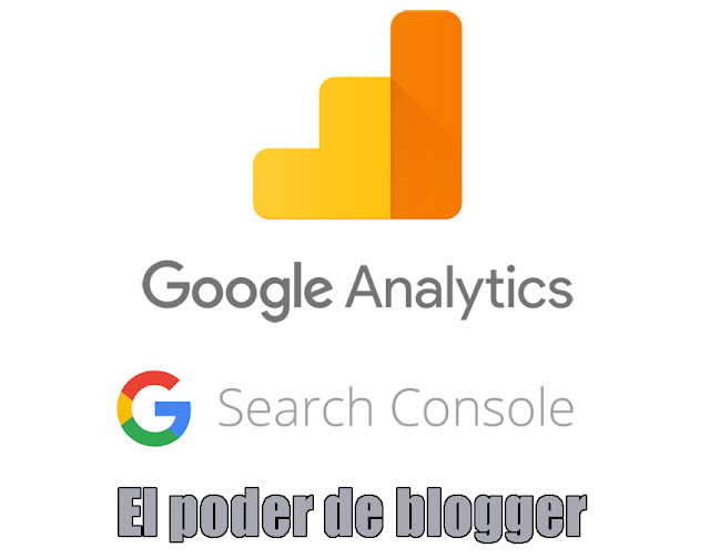 blogger en la google search console y google analitycs - Portada
