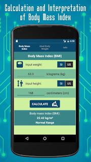 Calculation and interpretation of body mass index