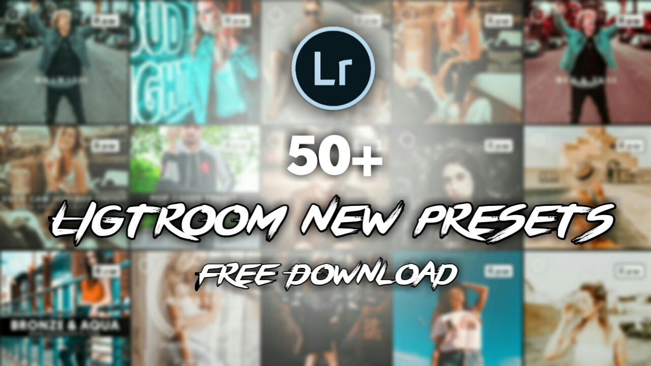 50+ Lightroom mobile Presets free fownload