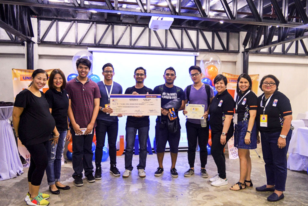 UHAC Hackathon by Unionbank at Cebu City