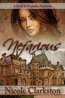 Book Cover - Nefarious by Nicole Clarkston