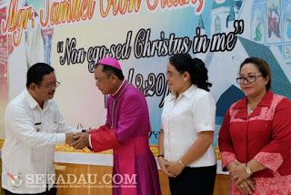 Pentahbisan uskup asal Teriak Kabupaten Bengkayang, Pentahbisan uskup asal Teriak Kabupaten Bengkayang