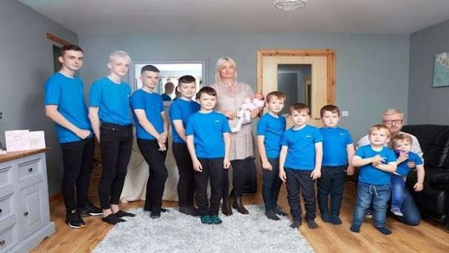 39 साल की महिला ने जन्म दिए 10 बच्चे, इस कारण फिर हुई प्रेग्नेंट