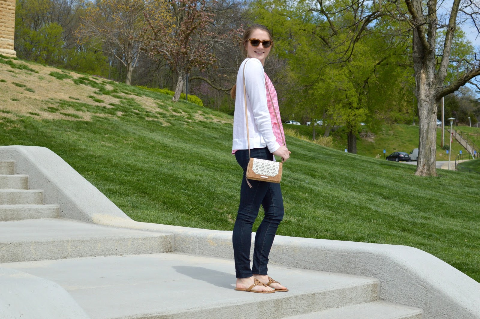 new ways to wear a white cardigan | spring lookbook | what to wear this spring