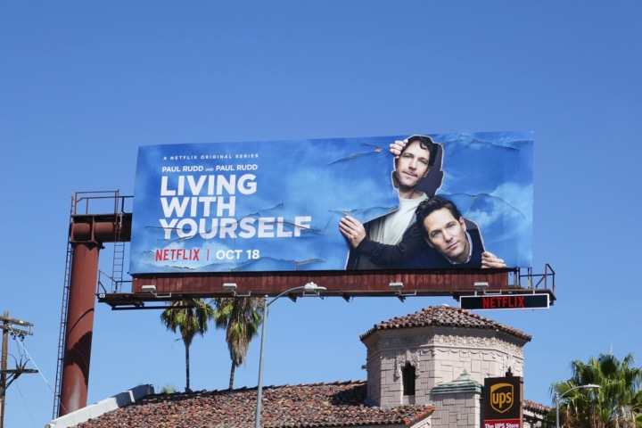 Living With Yourself series launch billboard