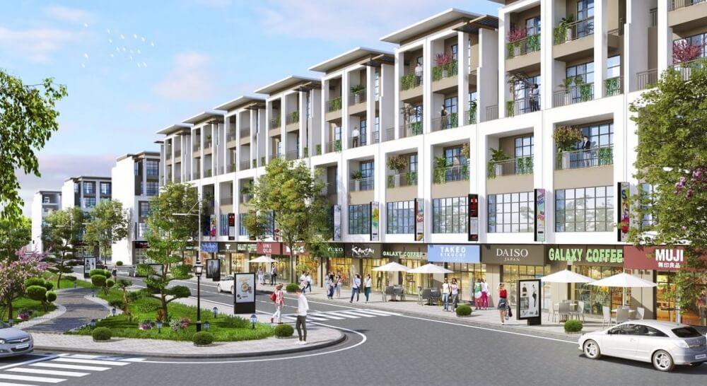 Nhà phố thương mại khu đô thị Thanh Hà