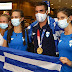 Στην Ελλάδα  ο Στέφανος Ντούσκος Τα Ιωάννινα τον υποδέχονται με εκδήλωση στην πλατεία στις 8 το βράδυ