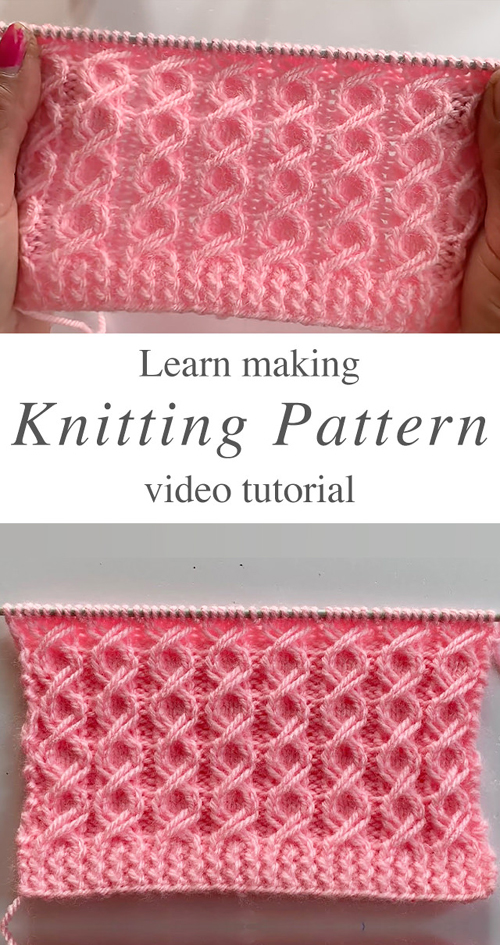 Easy Knit Pattern You Should Learn - Tutorial