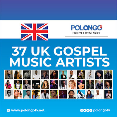 37 AMAZING UK GOSPEL ARTISTES