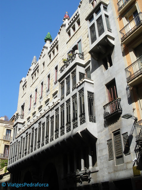 Ruta modernista, Barcelona, Catalunya, Patrimoni de la Humanitat, Unesco
