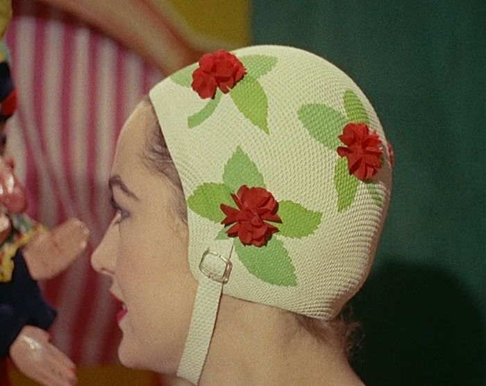 8b2c7d3e142 ZEE NOTEBOOK: Vintage Swimming Caps