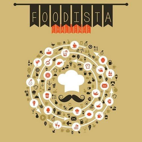 Logo Foodista challenge, défi cuisine