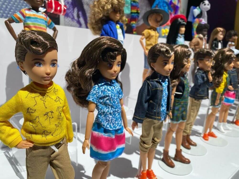 Куклы Creatable World 2020 новые игрушки на выставке в Нью-Йорке