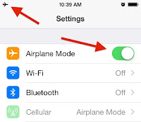 Turn on airplane mode, then turn WiFi back on