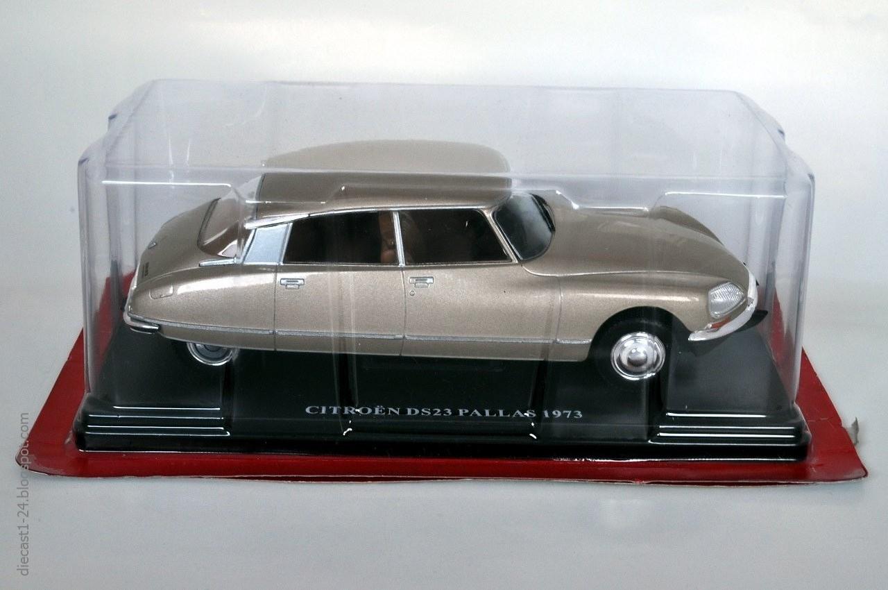 diecast 1 24 auto vintage france 1 citro n dx 23 pallas. Black Bedroom Furniture Sets. Home Design Ideas
