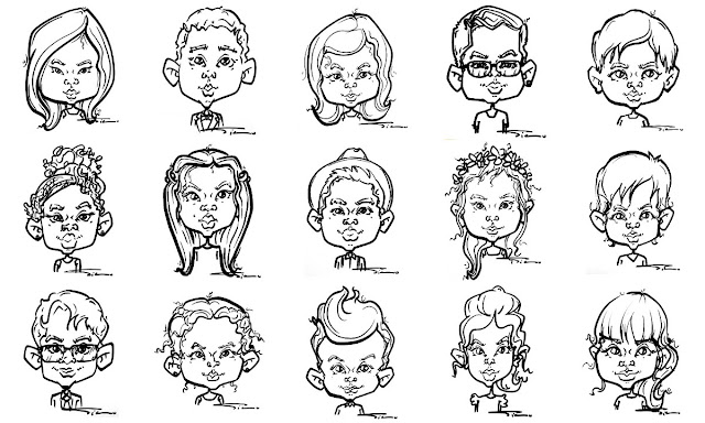 Kids Caricature Live London Children