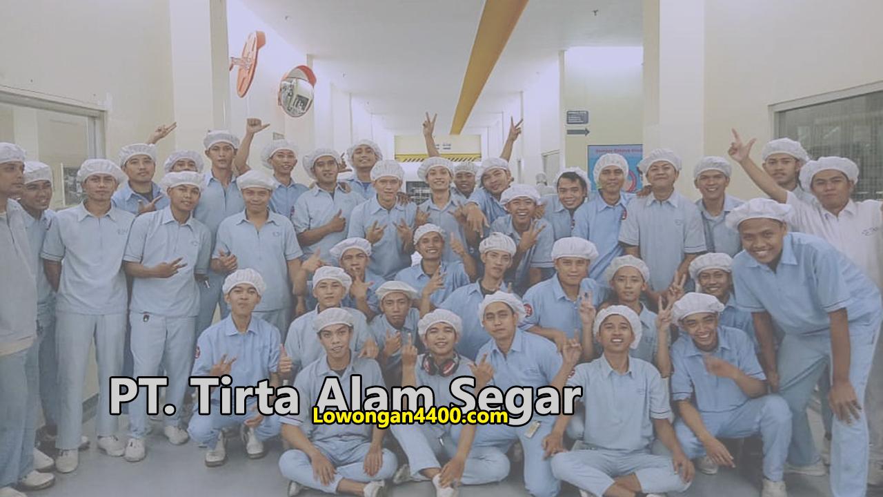 PT Tirta Alam Segar Tahun 2019