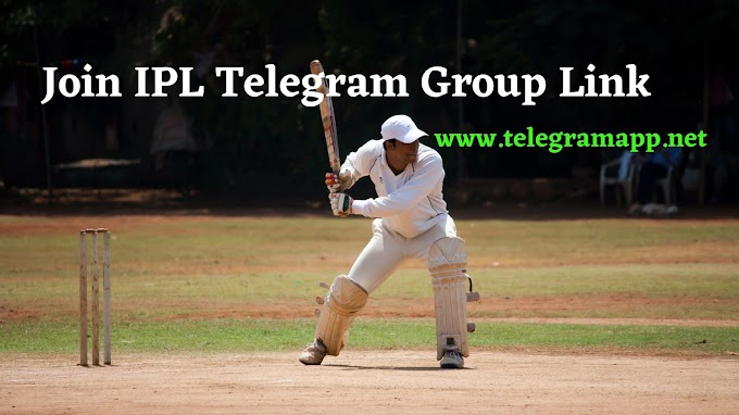 Join 100+ IPL Telegram Group Link