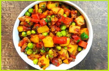 गाजर आलू की सब्ज़ी बनाने की विधि | How to Make Gajar Aalu Sabzi