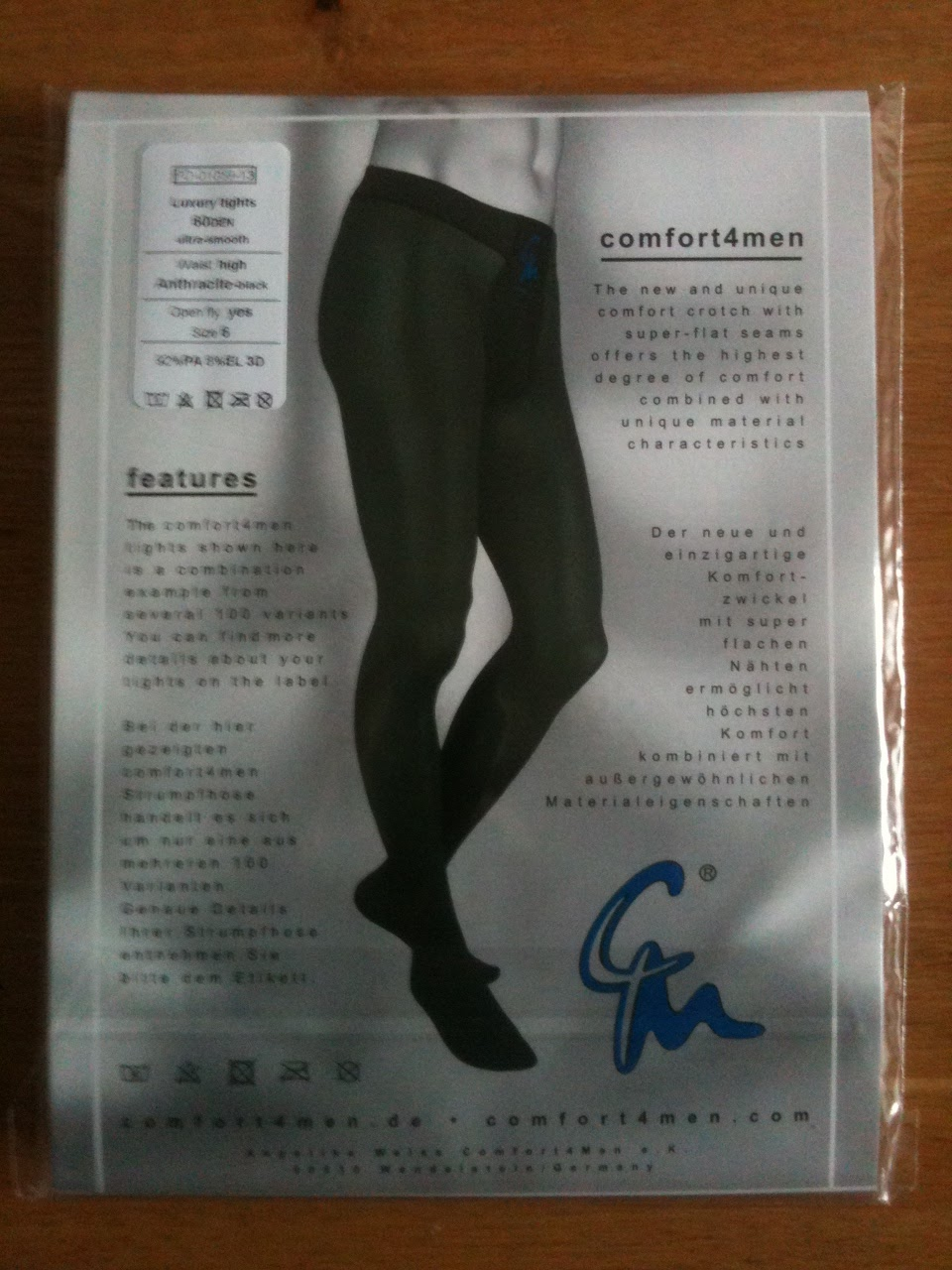 cbd0520f3a After reading the news that Gerbe might be discontinuing their range of men's  tights, it is great that there are retailers like Comfort4Men who are still  ...