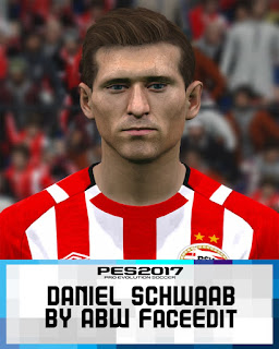 PES 2017 Faces Daniel Schwaab by ABW_FaceEdit