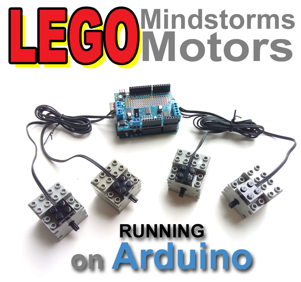 Tango of the Geeks: LEGO Mindstorms Motors with Arduino