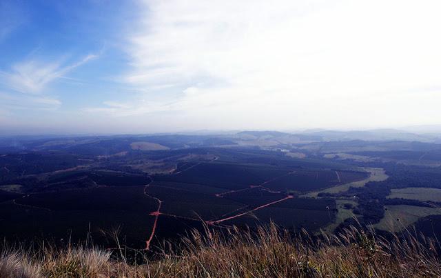Vista da Serra de Três Pontas