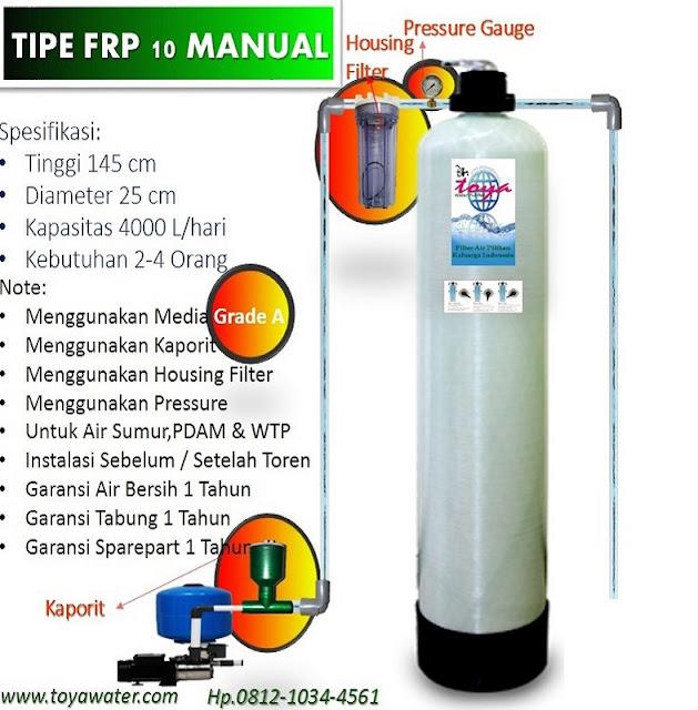 Filter Air Dr.Toya Tipe FRP 10 Terlaris