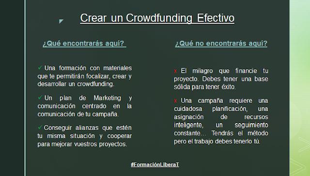 crowdfunding efectivo