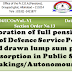 Restoration of full pension in respect of Defence Service Personnel also after expiry of commutation period of 15 years