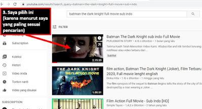 cara download film lewat komputer di youtube