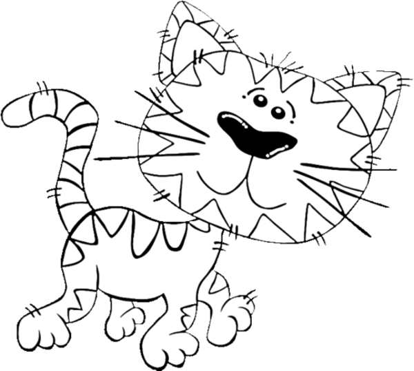 Privacy Policy >> Cartoon Cat Coloring Pages - Cartoon Coloring Pages