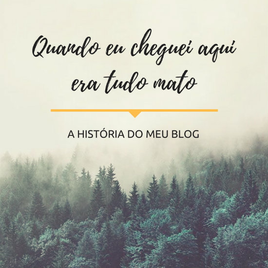 A história do meu blog - Grupo Universo Alternativo