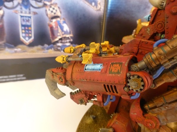 40k Ork Morkanaut - left arm