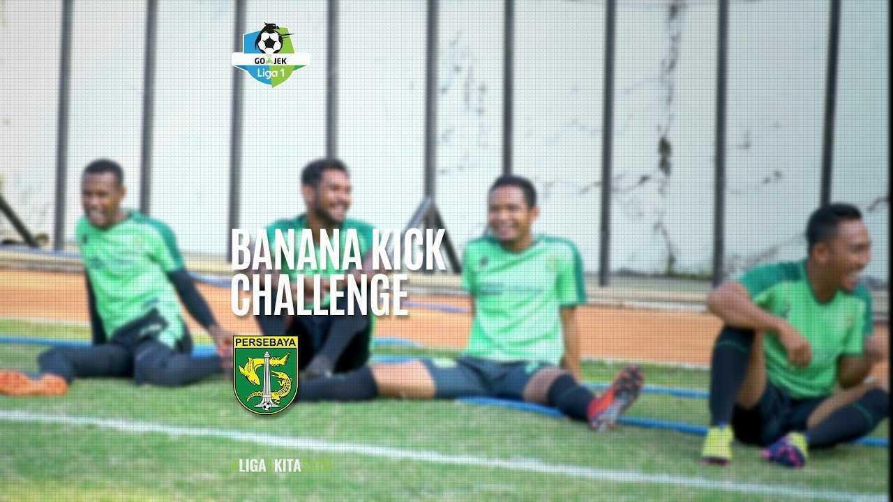 Banana Kick Challenge Persebaya