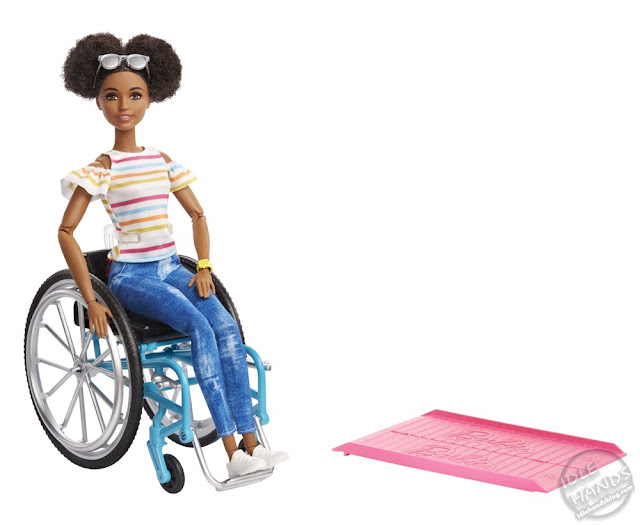 Toy Fair 2019 Mattel Barbie with Wheelchair 31